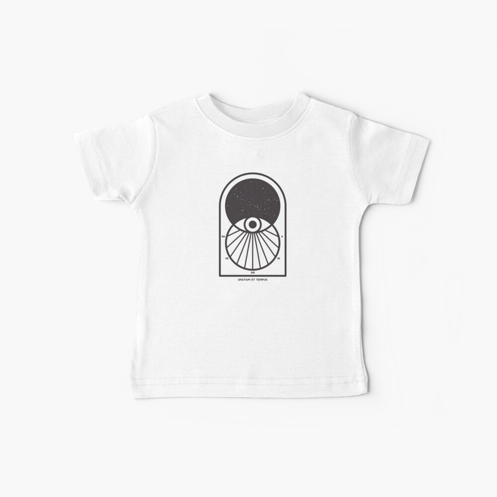 Space and Time Baby T-Shirt