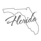 Florida State | Einfaches Design in Grau mit moderner Typografie von PraiseQuotes