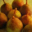 Pears by debbiedoda