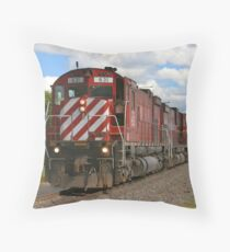 Western New York & Pennsylvania Railroad Throw Pillow