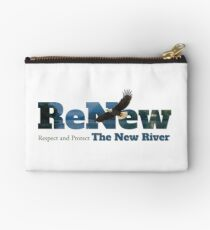 ReNew the New River Zipper Pouch