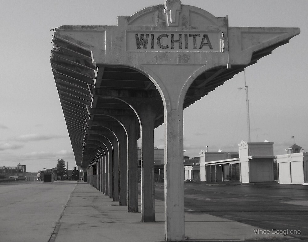 Weatherd & Worn In Wichita by Vince Scaglione