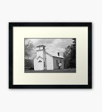old timey church Framed Print