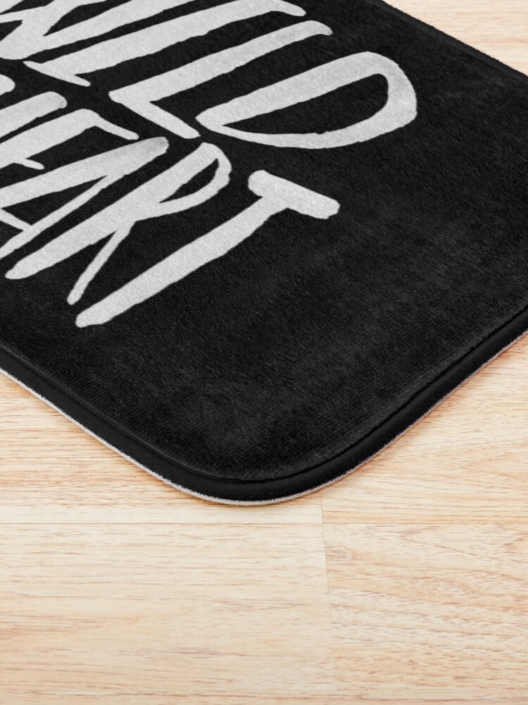 Alternate view of Wild at Heart x Black and White Bath Mat
