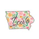 Iowa State | Blumenrosen-Design von PraiseQuotes
