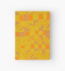 Geometric in Yellow and Orange Hardcover Journal