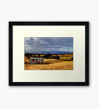 The Wairau Plains Framed Print
