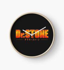 Dr. STONE - Anime / Manga Logo Clock