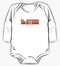 Dr. STONE - Anime / Manga Logo Long Sleeve Baby One-Piece