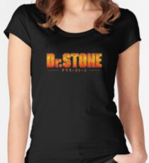Dr. STONE - Anime / Manga Logo Fitted Scoop T-Shirt