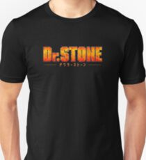 Dr. STONE - Anime / Manga Logo Slim Fit T-Shirt