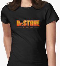 Dr. STONE - Anime / Manga Logo Fitted T-Shirt