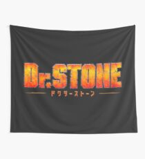 Dr. STONE - Anime / Manga Logo Wall Tapestry