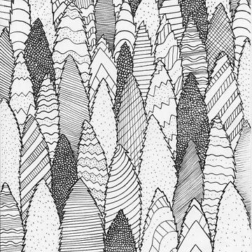 Muster Wälder von steveswade