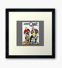 Jonny Quest 1964 Framed Print