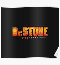 Dr. STONE - Anime / Manga Logo Poster