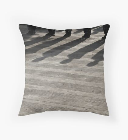 girl soldiers 2 Throw Pillow