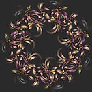 Ribbon Wreath by Barbara A Lane