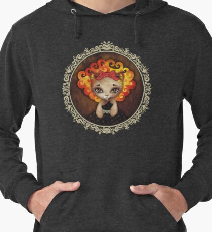 Cowardly Lioness Lightweight Hoodie