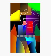 internet symbol Photographic Print