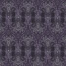 Purple Paisley by bluebell42