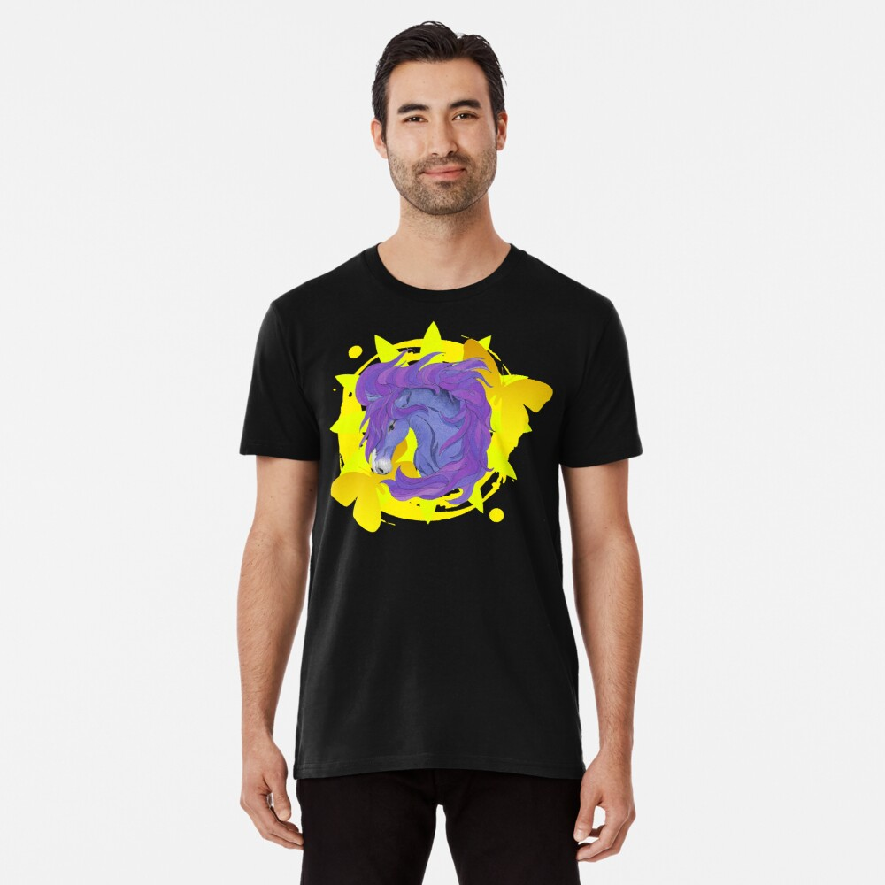 Wild Horse Purple Premium T-Shirt