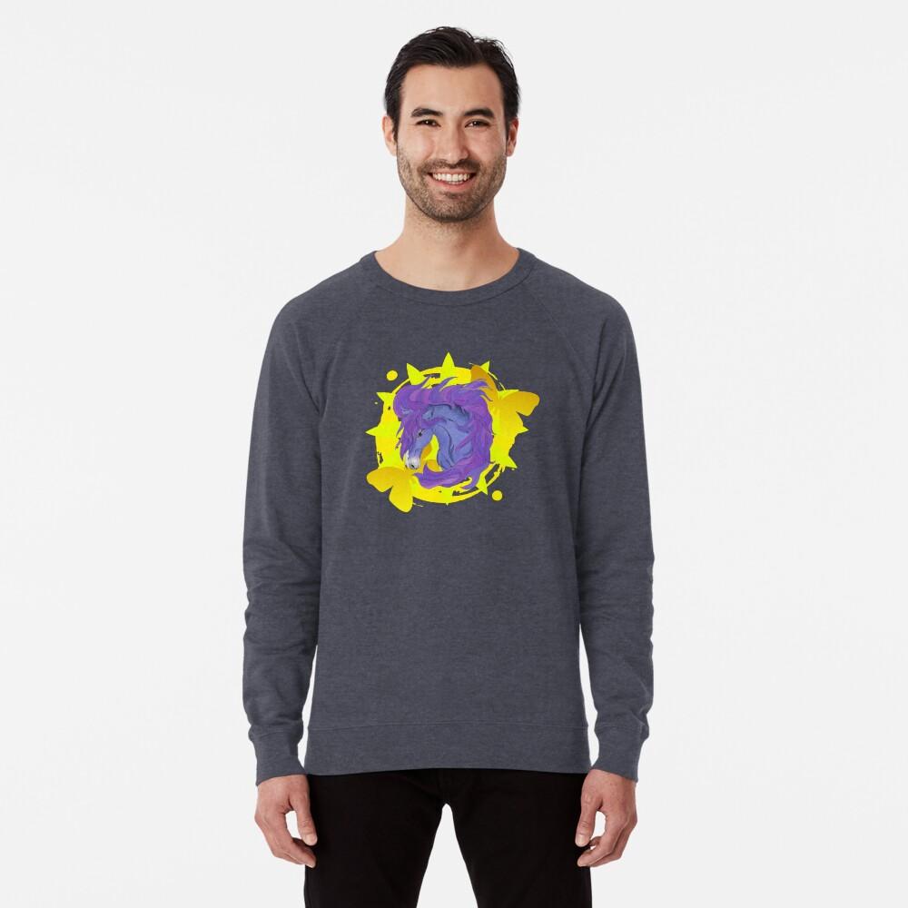 Wild Horse Purple Lightweight Sweatshirt