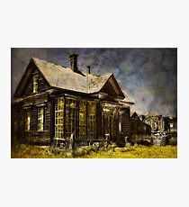 Welcome To Our House Photographic Print