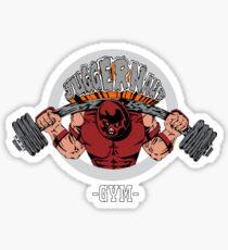 Juggernaut Gym Sticker