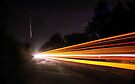 Multi Light Trails  by Aaron Campbell