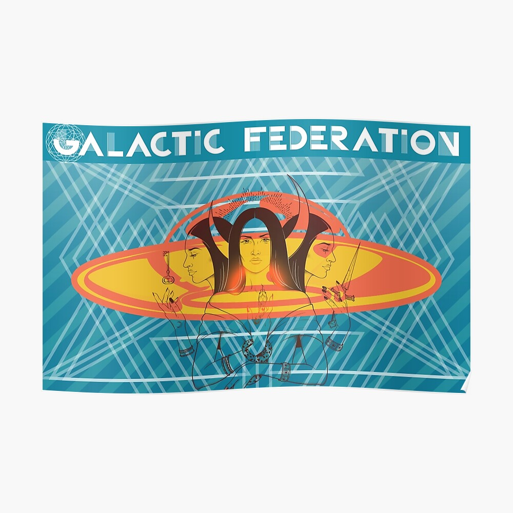 Galactic Federation of Light: Triple Goddess Poster