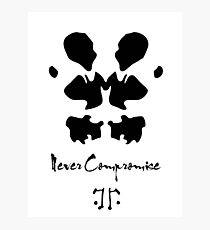 Never compromise Photographic Print