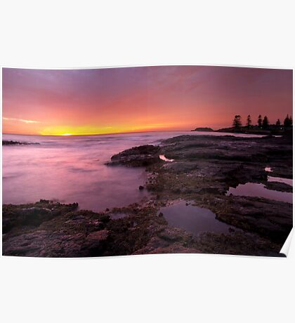 Dawn Breaker - Kiama Sunrise Poster