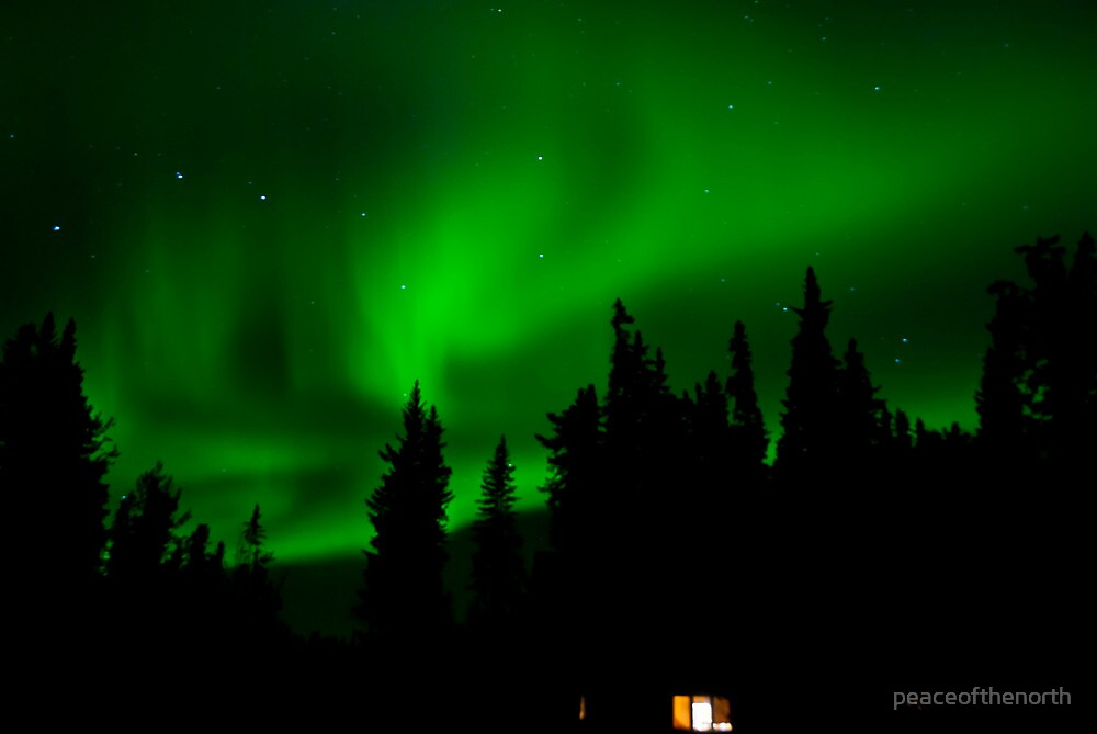 Auroras at Home by peaceofthenorth