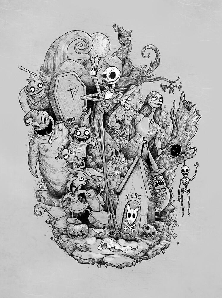 «Una pesadilla en blanco y negro» de MathijsVissers