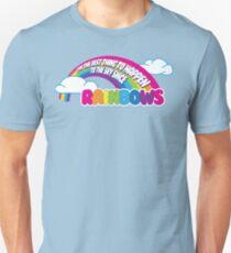 Cabin Pressure - Rainbows T-Shirt
