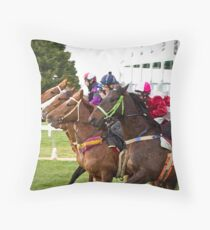 Painted Horses Throw Pillow