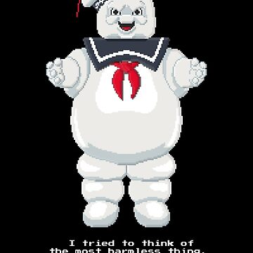 Stay Puft - Ghostbusters Pixel Art by Gwendal