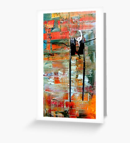 Equilibrio Greeting Card