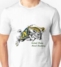 THE USNA Rampaging Goat! Unisex T-Shirt