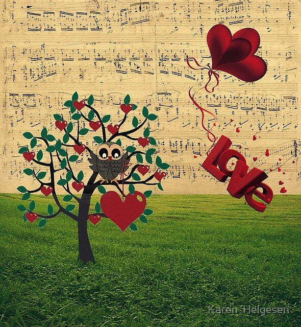 Love Notes by Karen  Helgesen
