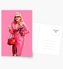 Elle Woods Legally Blonde Bruiser Chihuahua Postcards