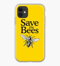 Save The Bees Beekeeper Quote Design iPhone Case