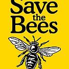 Save The Bees Beekeeper Quote Design von theshirtshops