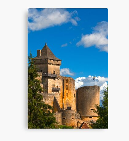 Castelnau-bretenoux France Canvas Print