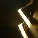 glowing rails  by Jeff stroud