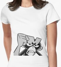 MOMO the monkey Women's Fitted T-Shirt