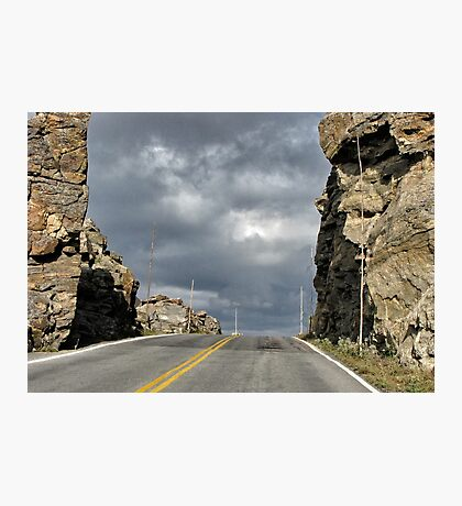 """I'm on the road again........"" Photographic Print"