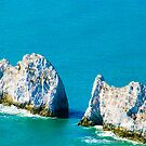 The Needles Isle of Wight by Lyndy