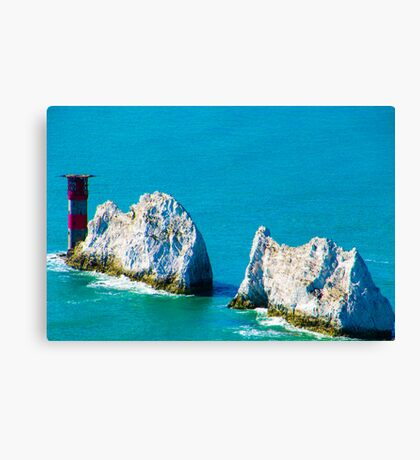 The Needles Isle of Wight Canvas Print